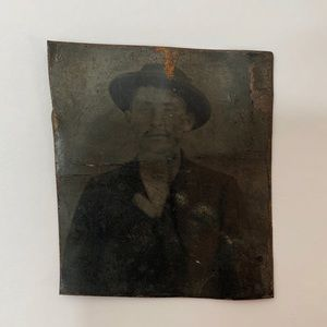 Other - Antique 1800s Asian American Tintype Photograph